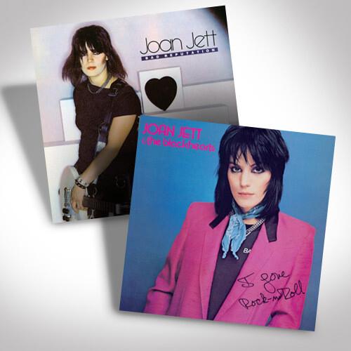 Joan Jett Vinyl Bundle