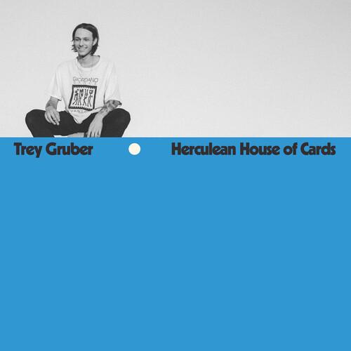 Trey Gruber - Herculean House Of Cards (Color Vinyl) (Blue)