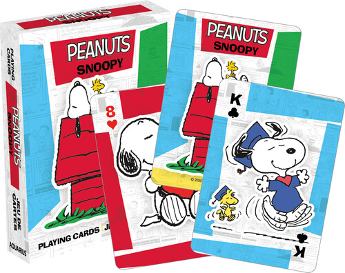 PEANUTS SNOOPY PLAYING CARDS DECK