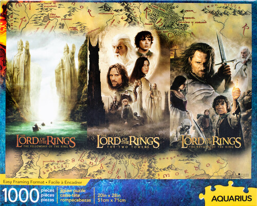 LORD OF THE RINGS TRIPTYCH 1000 PC PUZZLE