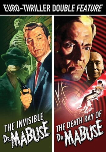 Euro-Thriller Double Feature: The Invisible Dr. Mabuse /  The Death Ray Mirror of Dr. Mabuse