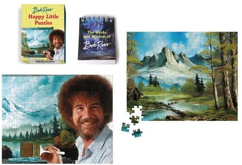 Ross, Bob - Bob Ross: Happy Little Puzzles