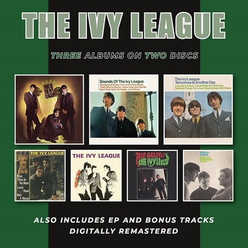 This Is The Ivy League /  Sounds Of The Ivy League /  Tomorrow IsAnother Day Plus Ep & Bonus Tracks [Import]