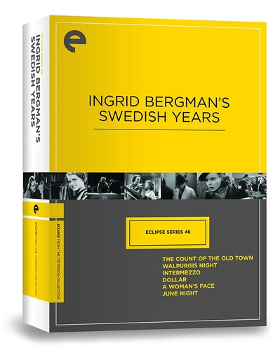Ingrid Bergman's Swedish Years (Criterion Collection - Eclipse Series 46)