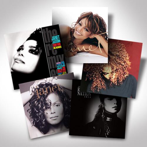 Janet Jackson Vinyl Bundle