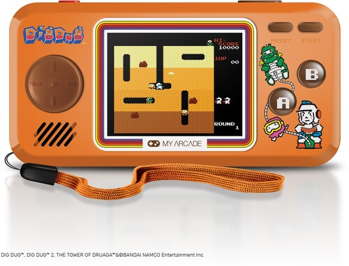 MY ARCADE DGUNL3243 DIG DUG POCKET PLAYER GAME SYS