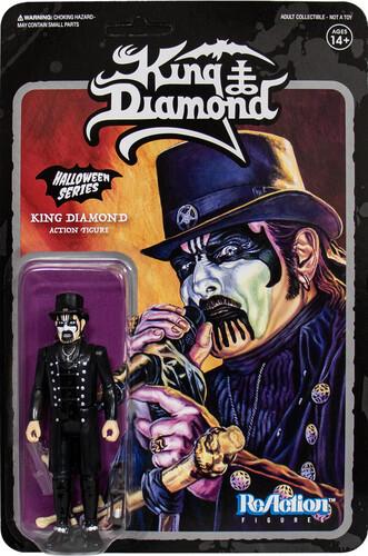 KING DIAMOND MODERN TOP HAT REACTION