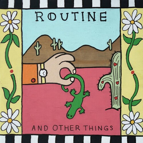 Routine - And Other Things EP (Coke Bottle Clear Vinyl )