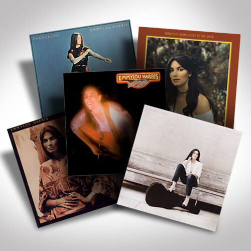 Emmylou Harris Vinyl Bundle