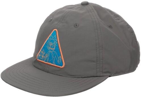 RICK & MORTY TRIANGLE PATCH SNAPBACK BASEBALL CAP