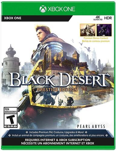 Xb1 Black Desert - Prestige Edition - Black Desert: Prestige Edition for Xbox One
