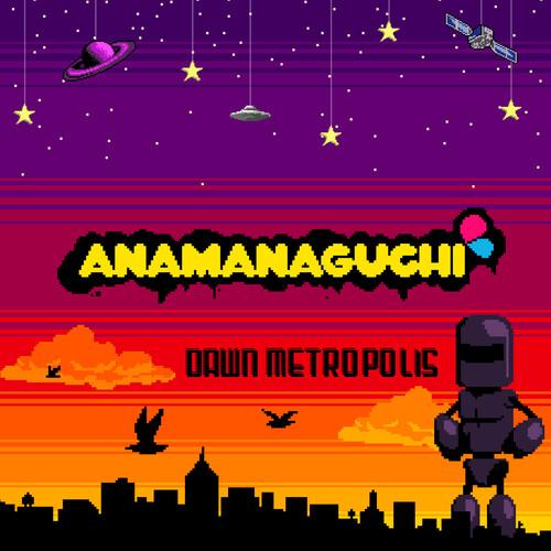 Anamanaguchi - Dawn Metropolis (Orange/Maroon/Purple Vinyl)