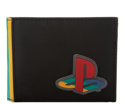 SONY PLAYSTATION RUBBER PATCH BIFOLD WALLET