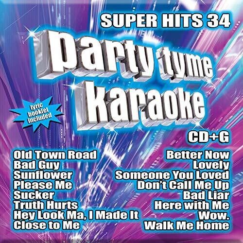 Party Tyme Karaoke: Super Hits 34 (Various Artists)
