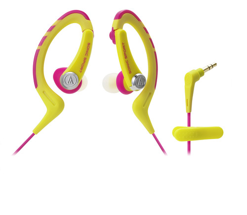 AUDIO TECHNICA ATH-SPORT1YP SPORT EAR CLIP IN EAR