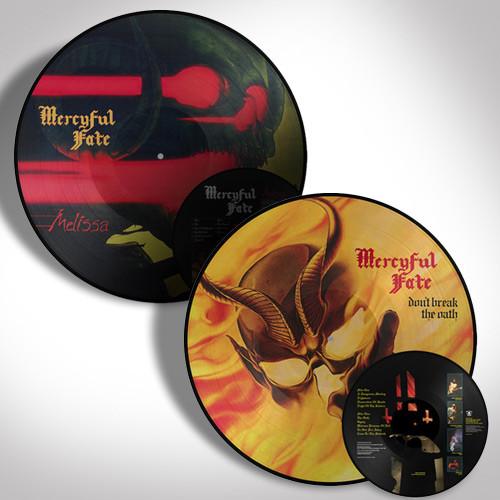 Mercyful Fate Picture Disc Bundle