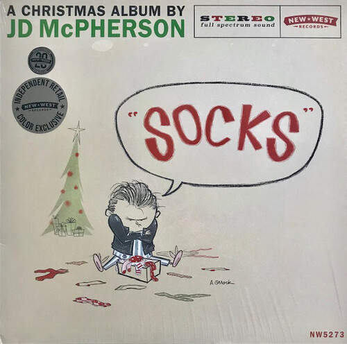 JD McPherson - Socks [Indie Exclusive Limited Edition Snow Globe Colored LP]