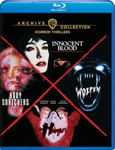 Horror Thrillers: 4-Film Collection