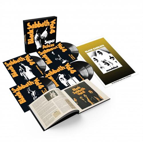 Black Sabbath - Vol. 4 (Super Deluxe Edition)(5LP)