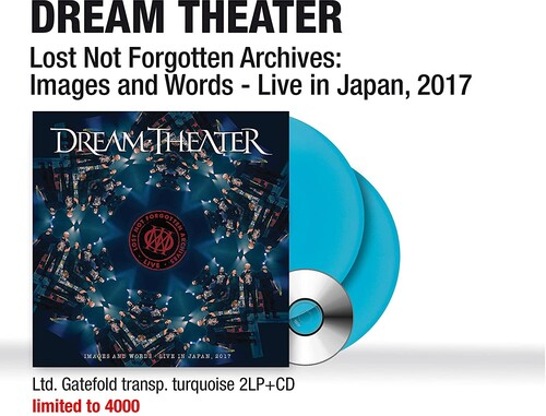 Dream Theater - Lost Not Forgotten Archives: Images and Words-Live in Japan (Limited Edition) (Transparent Turquoise Vinyl) [Import]