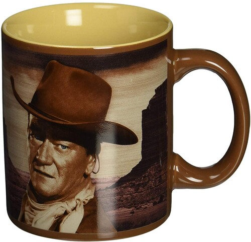 JOHN WAYNE A MAN'S GOT TO 12 OZ. CERAMIC MUG