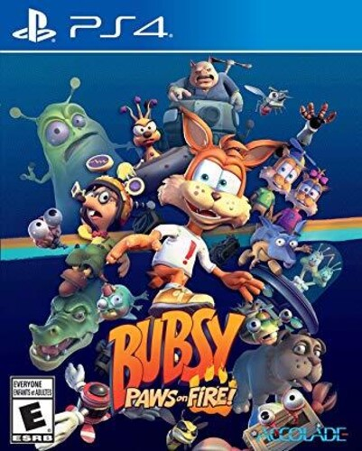 Ps4 Bubsy: Paws on Fire! - Bubsy: Paws On Fire!