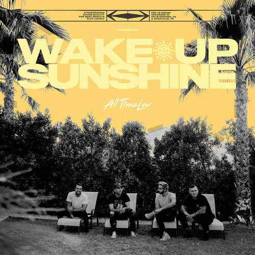 All Time Low - Wake Up, Sunshine [Indie Exclusive Limited Edition Custard W/ White Splatter LP]