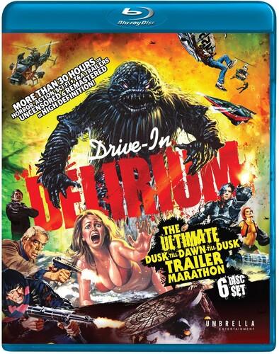 Drive-In Delirium: The Ultimate Dusk to Dawn to Dusk Trailer Marathon [Import]