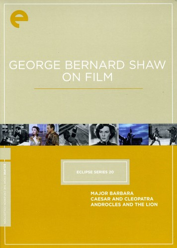 George Bernard Shaw (Criterion Collection: Eclipse Series 20)