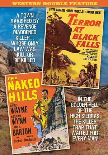 Western Double Feature: Terror At Black Falls (1962)/ The Naked Hills(1956)