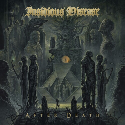 Insidious Disease - After Death (Olive/Mustard Swirl) [Colored Vinyl]