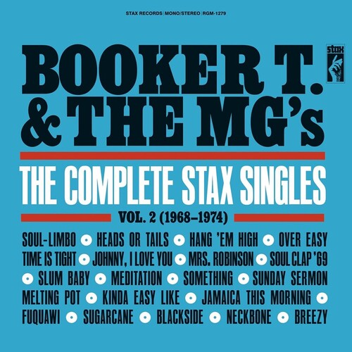 Booker T & Mg's - Complete Stax Singles 2 (1968-1974) [Colored Vinyl] (Gate)