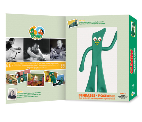 Gumby: Complete 50's Series Plus Bendable