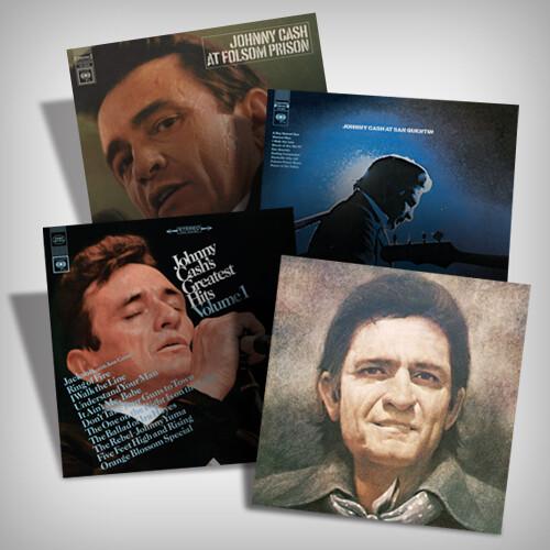 Johnny Cash Vinyl Bundle