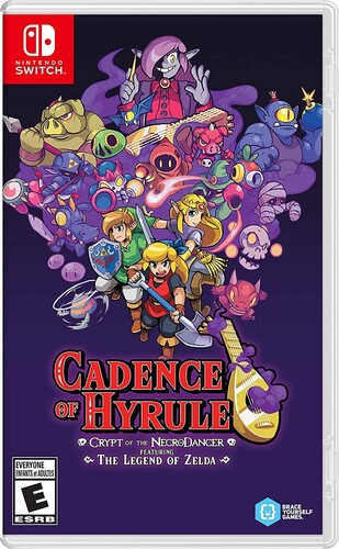 Swi Cadence of Hyrule: Crypt of the Necrodancer - Cadence of Hyrule: Crypt of the NecroDancer Featuring The Legend ofZelda for Nintendo Switch