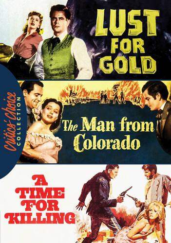 Glenn Ford Western Triple Feature
