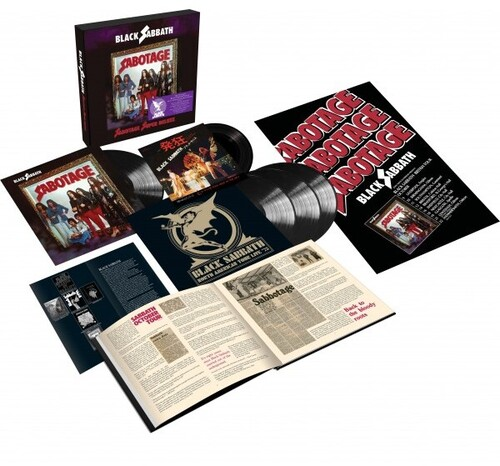 "Sabotage (Super Deluxe Edition)(4LP+7"")"