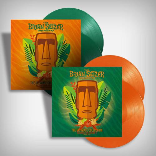 The Brian Setzer Orchestra Vinyl Bundle