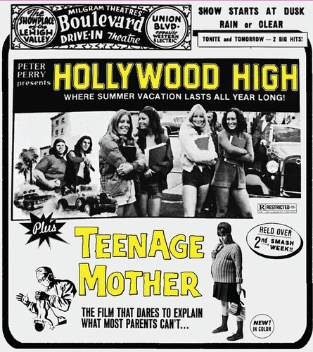 Hollywood High /  Teenage Mother (Drive-in Double Feature #9)