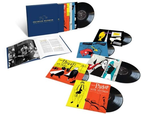 Charlie Parker - The Mercury & Clef 10-inch LP Collection [5x10in LP Box Set]