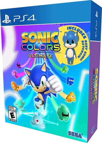 Sonic Colors Ultimate: Launch Edition for PlayStation 4