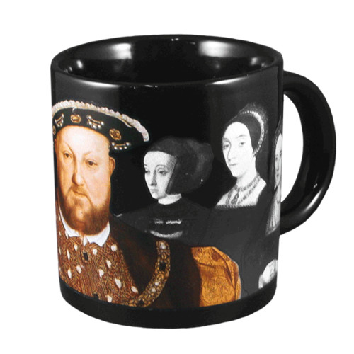 UNEMPLOYED PHILOSOPHERS HENRY VIII WIVES MUG