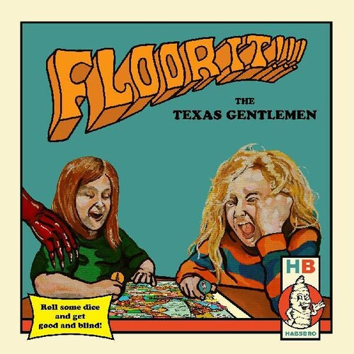 The Texas Gentlemen - Floor It!!! [Indie Exclusive Limited Edition Blue, Red, Yellow 2LP+Board Game]