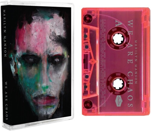 Marilyn Manson - WE ARE CHAOS [Fluorescent Pink Cassette]
