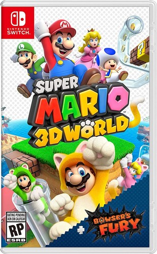 Swi Super Mario 3D World + Bowser's Fury - Super Mario 3D World + Bowser's Fury for Nintendo Switch