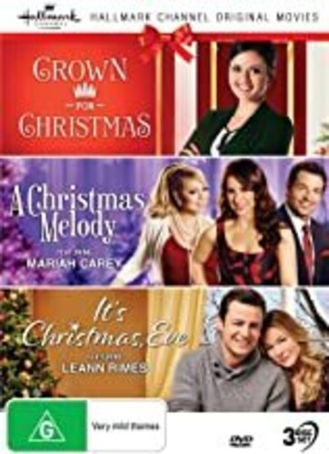Hallmark Xmas 8: Crown For Christmas /  Christmas Melody /  It's Christmas Eve [NTSC/ 0] [Import]
