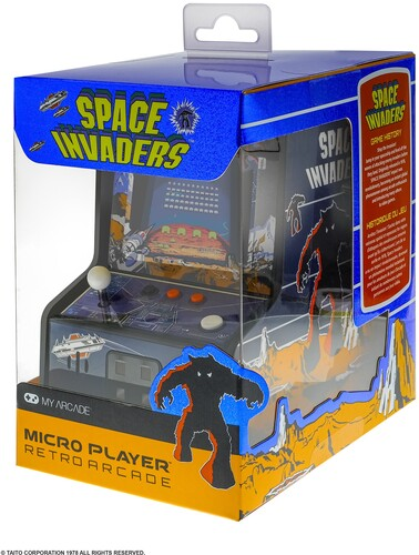 My Arcade Space Invaders Mini Arcade - Space Invaders Mini Arcade