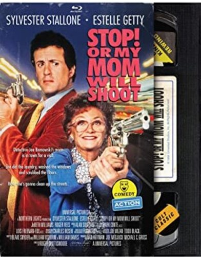 Stop! Or My Mom Will Shoot (Retro VHS Packaging)