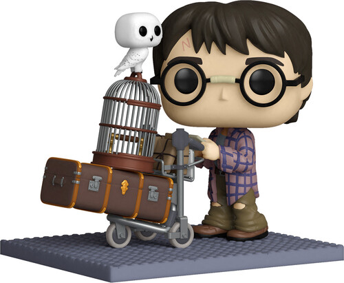 HARRY POTTER ANNIVERSARY- HARRY PUSHING TROLLEY