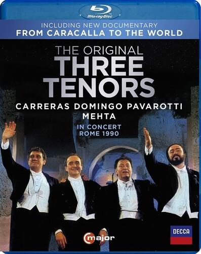 The Original Three Tenors in Concert, Rome 1990